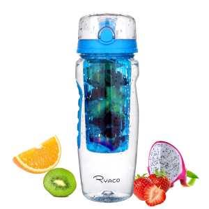 Ryaco Wasserflasche 1 Liter Bpa Frei Trinkflasche Für