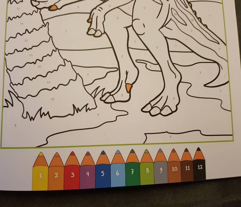 Taschenbuch Malen Nach Zahlen Dinosaurier Speziwebde