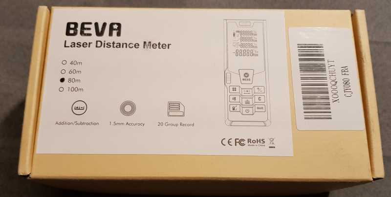 Bosch Entfernungsmesser Unterschiede : Beva laser entfernungsmesser distanzmessgerät messbereich bis m