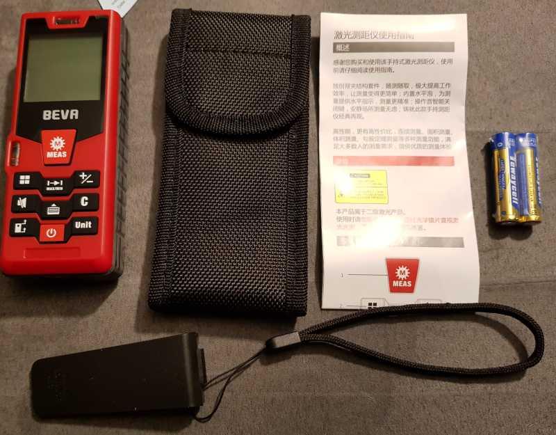 Laser Entfernungsmesser Englisch : Beva laser entfernungsmesser distanzmessgerät messbereich bis m